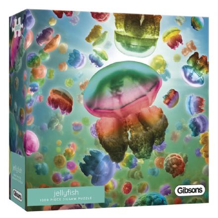 Jellyfish 1000 Piece Gibsons Jigsaw